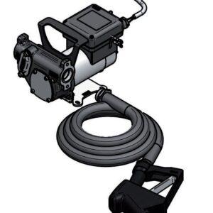 Pompa portabila motorina 50l/min 12V 02