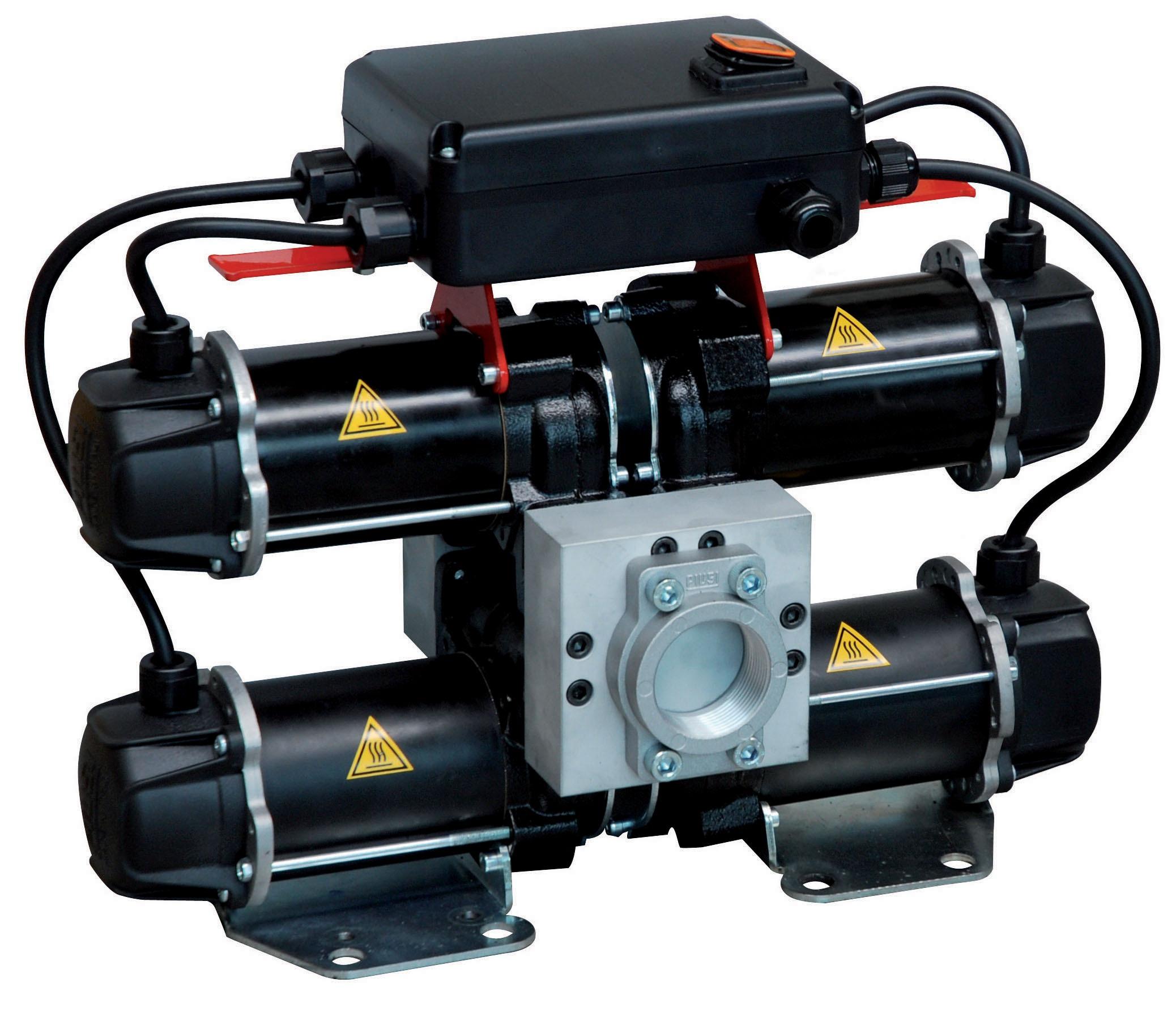 Distribuitor pompa motorina 185l/min 24V